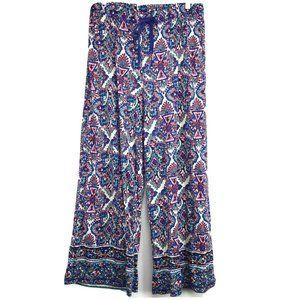 By Anthropologie Wide Leg Lounge Pants Pajamas